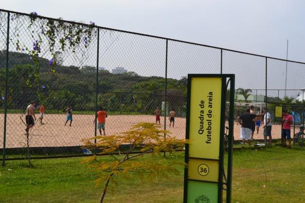 Campo Futebol de Areia