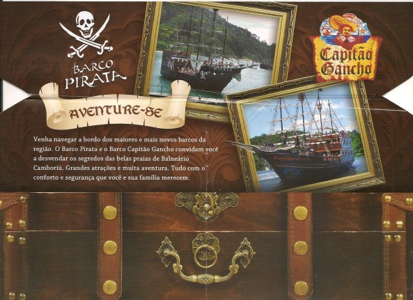 Barco Pirata - Frente