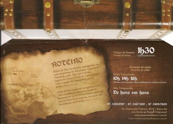 Barco Pirata - Verso