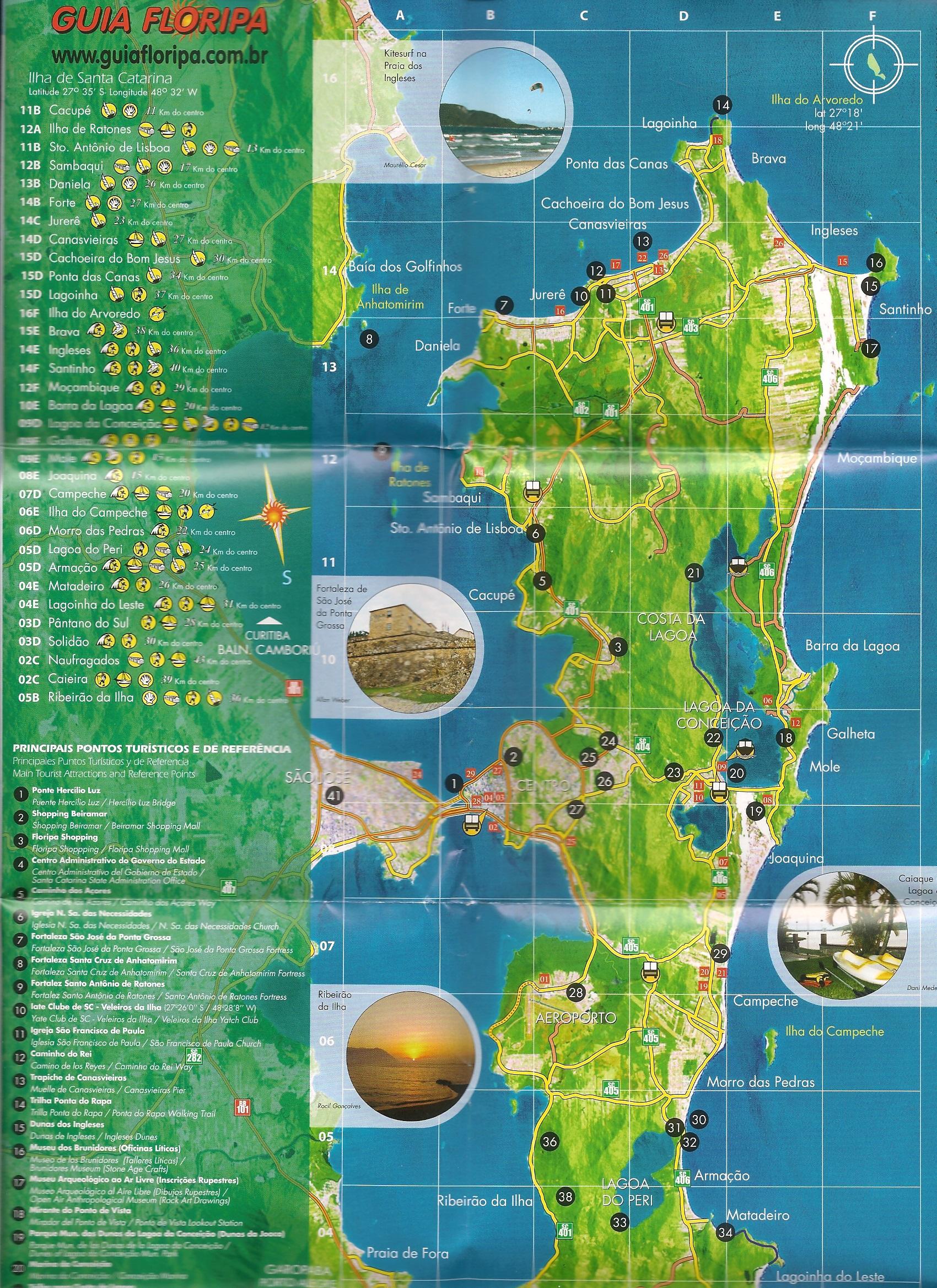 Mapa-Florianopolis