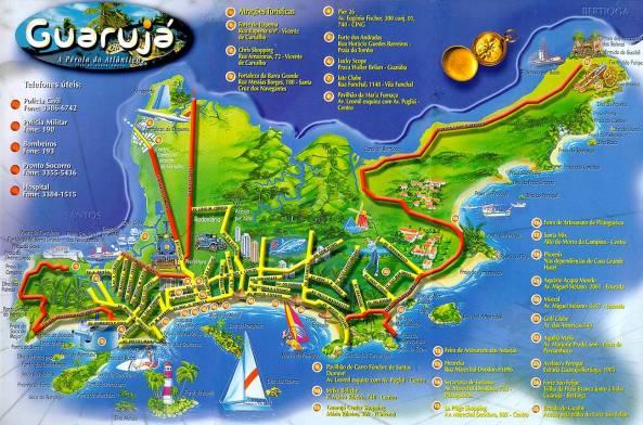 Guaruja Mapa