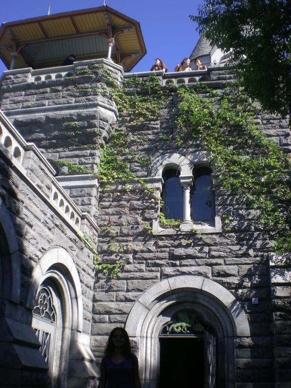 castelo no Central Parque