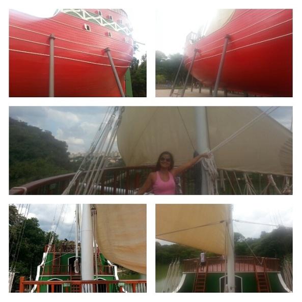 Caravela no Parque Taquaral