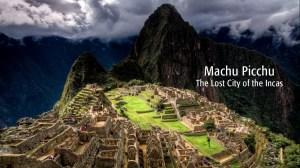 Machu Piccchu