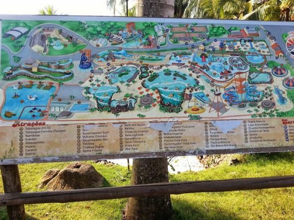 Mapa Brinquedos Thermas dos Laranjais